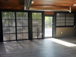 Sunspace Sunroom from the inside