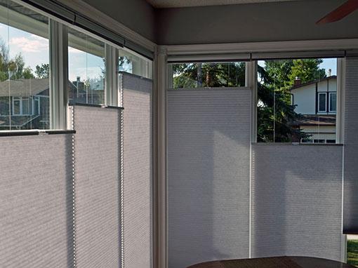 Indoor vertical shades