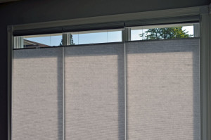 Top down bottom up cordless blinds